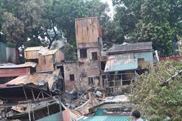 31 hộ dân bị ảnh hưởng trong vụ cháy gần Bệnh viện Nhi Trung ương