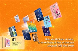 Thỏa sức thể hiện cá tính với dịch vụ thiết kế thẻ SHB Visa Debit