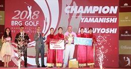 Gôn thủ Nhật Bản vô địch BRG Golf Hà Nội Festival 2018