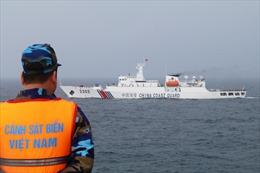 Cảnh sát biển Việt Nam - Trung Quốc tuần tra chung kiểm tra liên hợp nghề cá Vịnh Bắc Bộ