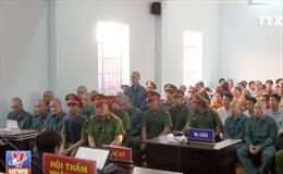 Xét xử các đối tượng gây rối tại Bình Thuận