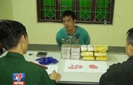Bắt 2 đối tượng người Lào vận chuyển ma túy qua biên giới