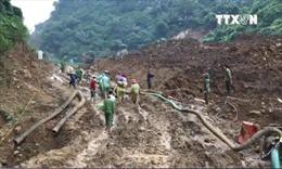 Đã tìm thấy 1 nạn nhân vụ sập hầm vàng tại Hòa Bình