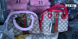 Thu giữ hàng nghìn túi hàng hiệu 'nhái'