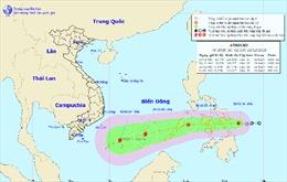 Áp thấp nhiệt đới có thể mạnh lên thành bão, biển động mạnh