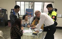 17 người bỏ trốn tại Đài Loan bị tạm giữ để điều tra