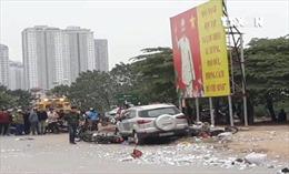 Tai nạn liên hoàn do mất lái tại Hà Đông (Hà Nội), hai vợ chồng đang đi ăn cỗ tử vong tại chỗ