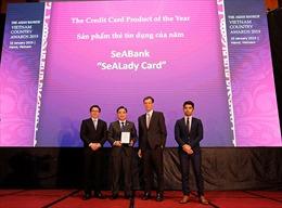 Thẻ tín dụng quốc tế SeALady được bình chọn là sản phẩm tín dụng tiêu biểu