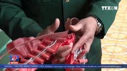 Lạng Sơn bắt giữ 2 tấn pháo vận chuyển qua biên giới
