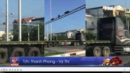 Đà Nẵng phạt đoàn xe container vượt đèn đỏ trong dịp Tết