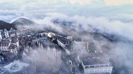 'Khách sạn lãng mạn nhất thế giới'miễn phí 1 đêm nghỉ cho các cặp đôi cầu hôn trên đỉnh Bà Nà
