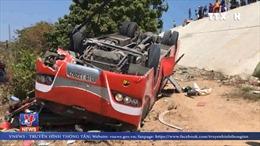 Khẩn trương cứu chữa các nạn nhân bị tai nạn giao thông tại Bình Thuận
