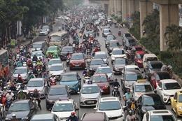 'Hà Nội đang đặt ra lộ trình cấm xe máy'