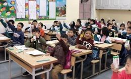 Học sinh tham gia Sữa học đường ở Hà Nội ngày càng tăng