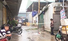 Bắt giữ đối tượng nổ súng, cướp tài sản tại chợ Long Biên