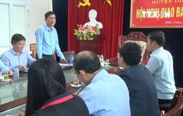 Sở Giáo dục và Đào tạo tỉnh Nghệ An làm việc về vụ học sinh bị đánh
