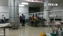 Sập giàn giáo ở Đắk Lắk khiến 8 người bị thương