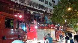 Chập điện biến áp, hàng trăm cư dân Capital Garden Trường Chinh tháo chạy