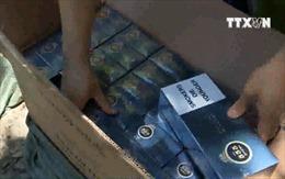 Đà Nẵng tạm giữ 2 đối tượng vận chuyển thuốc lá lậu