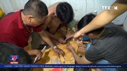 Bà Rịa-Vũng Tàu bắt 9 đối tượng tàng trữ ma túy