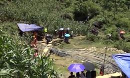 Lào Cai nỗ lực giải cứu nạn nhân bị mắc kẹt trong hang đá