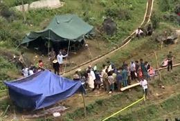 Lào Cai đã tìm được thi thể nạn nhân mắc kẹt trong hang