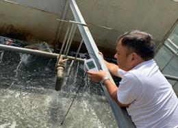 Nước sông Tô Lịch trong nhìn thấy đáy nhờ công nghệ Nhật Bản