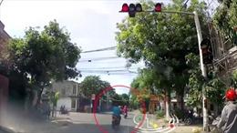 Tai nạn vì cố tình vượt đèn đỏ