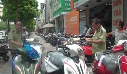 Phát hiện nhiều xe máy 70cc 'đội lốt' 50cc