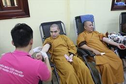 Giáo hội Phật giáo tổ chức Ngày hội hiến máu, hiến tạng cứu người