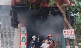 Cháy nhà trong phố tại Đà Nẵng