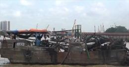 Đồng Nai bắt 4 thuyền hút cát trên sông