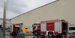 Cháy lớn tại Khu công nghiệp Sóng thần 3 (Bình Dương)