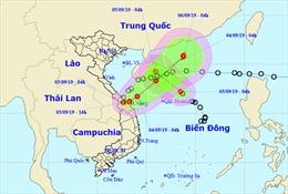 Hai áp thấp nhiệt đới cùng xuất hiện trên biển gây mưa to, gió giật cấp 10