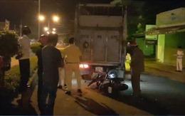 2 xe máy liên tiếp đâm vào xe tải tại Bình Phước, 2 người tử vong