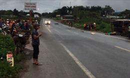 Tai nạn nghiêm trọng tại Bình Phước khiến 2 người tử vong