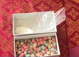 Bắt vụ vận chuyển gần 1kg ma túy ketamin tại Quảng Bình
