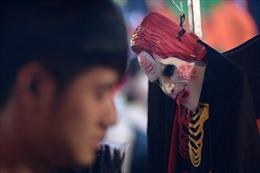 Đồ hóa trang Halloween càng kinh dị, càng đắt tiền