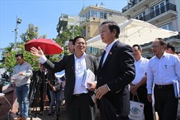 Bộ trưởng Trần Hồng Hà đánh giá cao việc làm sạch sông Tô Lịch, hồ Tây bằng công nghệ Nhật Bản