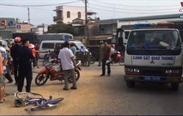 Học sinh lớp 6 tử nạn thương tâm vì xe ben