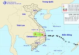 Thời tiết ngày 31/10: Bão số 5 vào đất liền và suy yếu thành áp thấp nhiệt đới