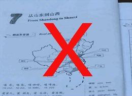 Bộ GD-ĐT yêu cầu khẩn trương thu hồi các giáo trình in bản đồ hình 'đường lưỡi bò'