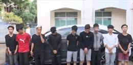 Bắt nhóm thanh thiếu niên chuyên trộm xe máy