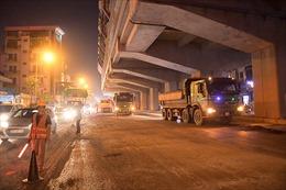 Hơn 60 tỷ đồng cải tạo mặt đường Nguyễn Trãi (Hà Nội)