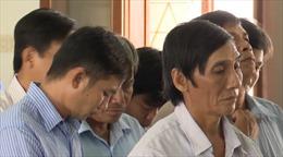 Tuyên án 16 bị cáo trong vụ đền bù giải phóng mặt bằng tại huyện Đông Hòa (Phú Yên)