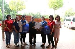 Báo Tin tức tổ chức chương trình từ thiện tại mái ấm Thánh Tâm