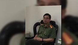 Bắt tạm giam nguyên Trưởng phòng An ninh chính trị nội bộ Công an tỉnh Hòa Bình
