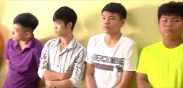 Bắt đối tượng chém xe của lực lượng dân phòng tại Đồng Nai