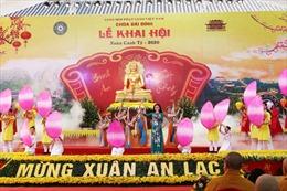 Khai hội chùa Bái Đính - Lễ hội mở đầu cho Năm Du lịch Quốc gia 2020