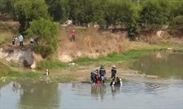 Tìm thấy thi thể 2 bé gái bị đuối nước tại Bình Dương